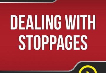 Lesson #7 - Dealing With Stoppages